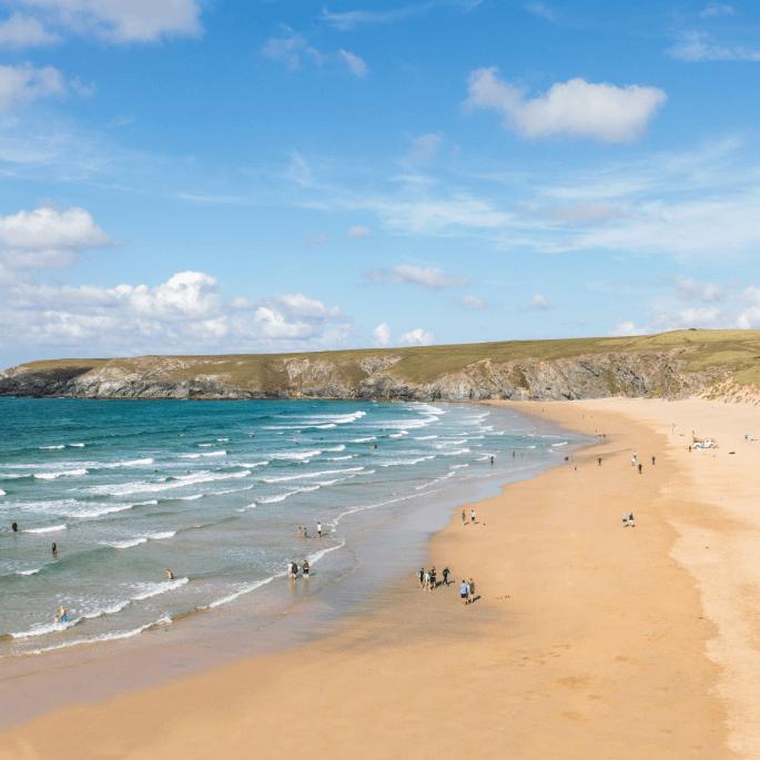 Beach holidays in Perranporth Cornwall