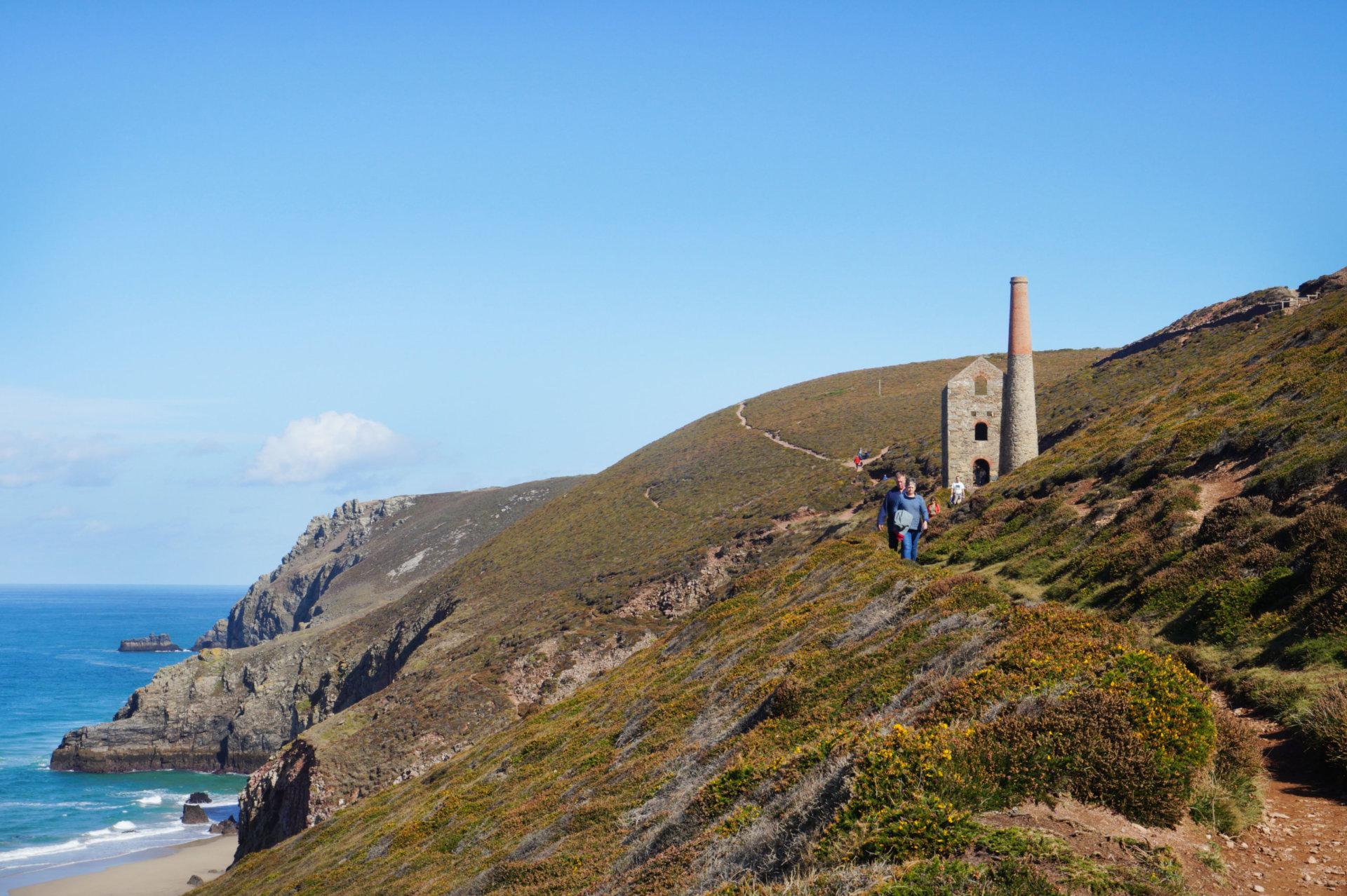 St Agnes walks Cornwall