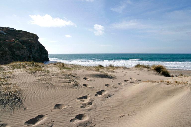 Holiday accommodation near Porthtowan beach in Cornwall